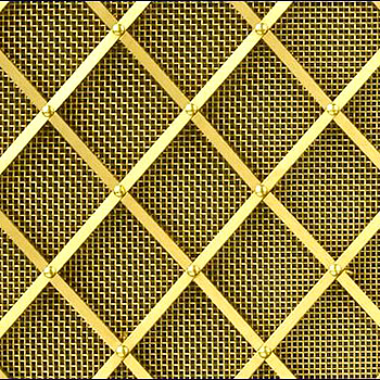 Regency Diamond Grille 25mm All Rivets