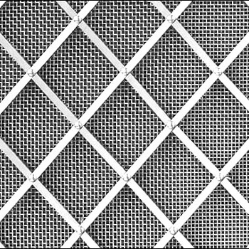 Stainless Steel Regency Diamond Grille 25mm All Rivets