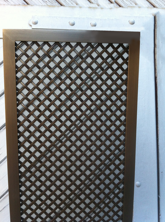 Radiator grille panels examples and ideas