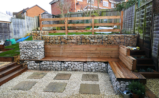 Adrian's Immaculate Modern garden entertaining space